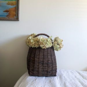 Pottery Barn Wicker Basket